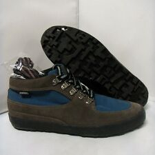 Pointer Mathieson Trek sz9 loose stitching gunmetal cornflower boots supra suede