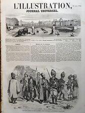L' ILLUSTRATION 1854 N 583 BACHI- BOZOUKS,VOLONTAIRES DE L' INTERIEUR, EN ORIENT