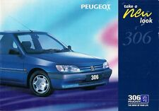 Peugeot 306 Genoa Spinnaker XS DTurbo S Limited Edition 1996 UK Market Brochure