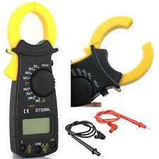 DT3266 Clamp Digital Multimeter AC/DC Volt Ohm Ammeter Clip-on Meter