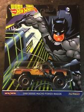 2016 HOT WHEELS POP CULTURE DC COMICS Batman 1980 Dodge Macho Power Wagon