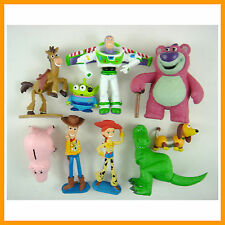 Set of 9 Mini Toy Story 3 Buzz Lighter Woody Jessie Figures Dinosaur Lotso +GIFT