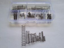 39pcs 0.5mm Wire Diameter Stainless Steel Compression Spring Springs Assortment