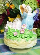 Beatrix Potter Tom Kitten and Mittens Music box Musical