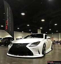 2015-17 Lexus RC PAINTED front NIA Splitter lip bodykit rc350 rc200 rc300 fsport