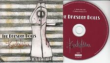 THE DRESDEN DOLLS Backstabber 2006 UK 2-track promo CD Amanda Palmer
