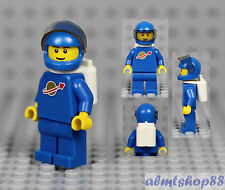 LEGO - Classic Space Astronaut Blue Minifigure Airtanks Vintage 70s 80s Minifig
