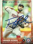 Tanner Roark Signed Auto 2015 Topps Washington Nationals Card - COA - MLB
