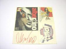 VECCHIO ADESIVO RADIO / Old Sticker _ RADIO DEEJAY ALBERTINO (cm 10 x 10)