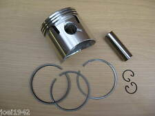 ROYAL ENFIELD 350 CC HIGH COMPRESSION PISTON KIT. 020 OVERSIZE. BRAND NEW.
