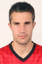 Football Photo ROBIN VAN PERSIE Man Utd 2012-2013