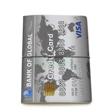 3D Visa Credit Card Pattern Identity Card Ticket Passport Holder Protect Cover