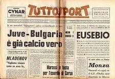 rivista TUTTOSPORT - 22/08/1973 N. 228 JUVE - BULGARIA
