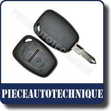 COQUE DE CLE PLIP TELECOMMANDE RENAULT TRAFIC 2 BOUTONS NEUF KS08REN