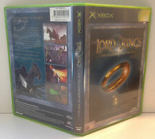 original XBOX Lord Of The Rings : The Fellowship *** MIB *** PAL 2 LOTR