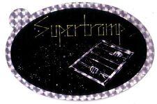 SUPERTRAMP - Original - Auto Aufkleber - 70er Jahre - Patch - Reflektierend