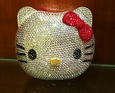 Hello Kitty Crystal Evening Bag Clutch Hand Bag made with Swarovski Crystals