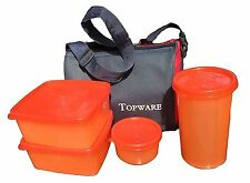 Topware Lunch box- Mulicolor - 4 Pc. Set