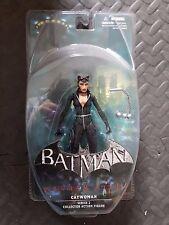 Video Juego De Batman Arkham City Serie 2 Figura de Acción 7 Pulgadas Sellado Catwoman Dc