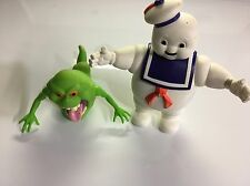 The Real Ghostbusters Stay Puft Marshmallow Man & Slimer Kenner