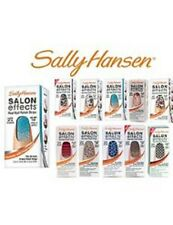 10 Sally Hansen Salon Effect Nail Great Fingernail Polish Strip NO REPEAT COLOR