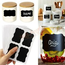 36 Pcs Blackboard Sticker Label for Kitchen wall decal quote sticker Inspiration