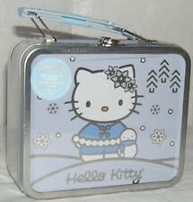Hello Kitty CHRISTMAS CANDY MINI LUNCH TIN 2001 SEALED FREE SHIPPING NWT