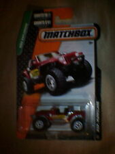 Matchbox (US Card) - 2015 - #116 Jeep Hurricane - Red