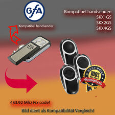 GFA - SKX1GS, SKX2GS,SKX4GS Kompatibel Handsender ersatz, klone