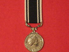 Miniature Prison Service Long Service Medal with ribbon in Mint Condition..