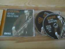 CD Jazz Lester Young - 100 Years : Forever Young 2Disc (31 Song) STORYVILLE