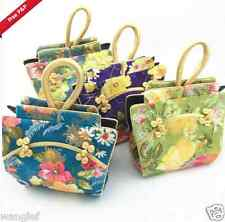 Wholesale4pcs Chinese Handmade Vintage Cloth Shape silk Handbag Wallet Purse