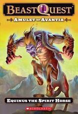 Beast Quest #20: Amulet of Avantia: Equinus the Spirit Horse-ExLibrary