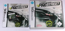Gioco: need FOR SPEED PRO STREET VIDEOGAME NINTENDO DS LITE + + + DSi XL + 3ds