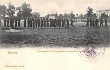 2849) FAENZA CAMPO DI MARTE I BERSAGLIERI DEL 6 REGGIMENTO IN ISTRUZIONE.