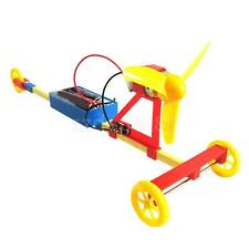 Electric Air Powered Racing Car DIY Assembly Model Toy for Kid Experiment