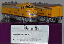 HO Brass Union Pacific EMD FP7A+B #1498 Reblt 1956 for Freight DivPoint #DP2107F