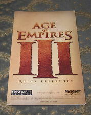 Age of Empires 3 - QUICK REF. GUIDE ONLY