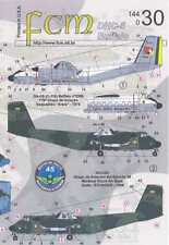 FCM Decals 1/144 DE HAVILLAND DHC-5 BUFFALO Transport