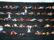 36 RINGS  size 1 -15 metaphysical arthritis magnetic doctor herbalist sca copper