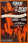 ORGY OF THE DEAD RARE 1965 ED WOOD JR CULT B MOVIE A3 POSTER REPRINT