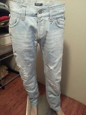 Dolce Gabbana Distressed Jeans 36/34 Button Fly - ITALY