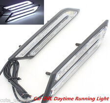 New HID White High Power Blade Shape LED Light For Car DRL Daytime Running Light