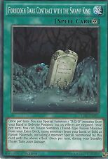 YU-GI-OH: FORBIDDEN DARK CONTRACT WITH THE SWAMP KING - TDIL-EN056 1ST EDITION