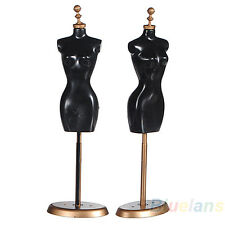 Display Holder Dress Clothes Gown Mannequin Model Stand For Barbie