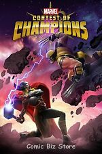 CONTEST OF CHAMPIONS #4 (2016) 1ST PRINT SCARCE 1:10 KAMAM VARIANT COVER