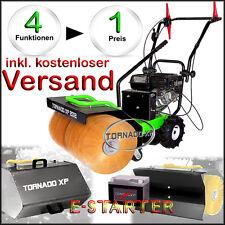 Kehrmaschine Schneefeger für Schnee & Schmutz mit Elektro-Starter 4 in 1 AKTION