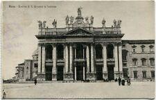 1925 Roma - Basilica di San Giovanni in Laterano, carrozza - FP B/N VG ANIM
