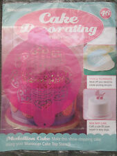 Deagostini Cake Decorating Magazine ISSUE 46 WITH MOROCCAN CAKE TOP STENCIL