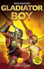 A Hero's Quest (Gladiator Boy), David Grimstone, New Book